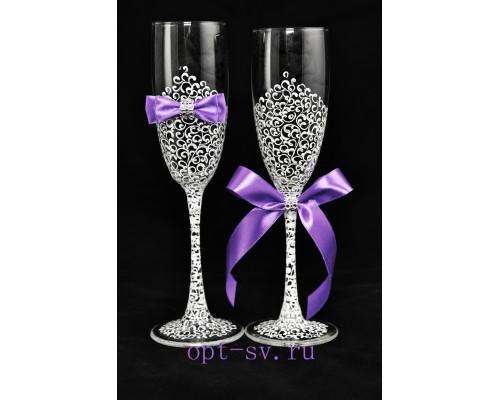 Свадебные бокалы (2 шт) В 20