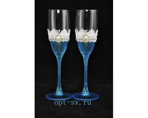 Свадебные бокалы (2 шт) В 10
