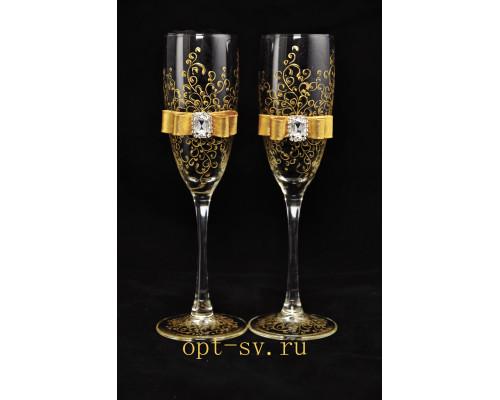 Свадебные бокалы (2 шт)  В 31