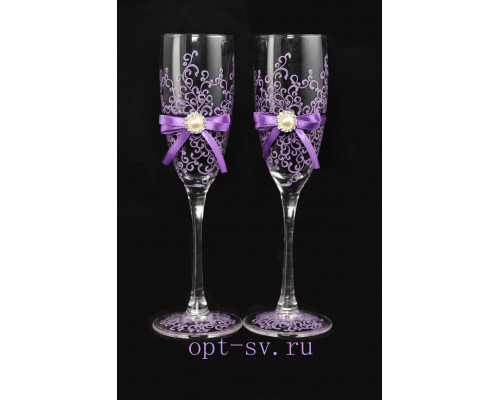 Свадебные бокалы (2 шт) В 64