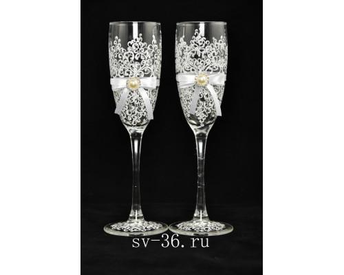 Свадебные бокалы (2 шт) В 75