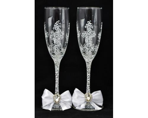 Свадебные бокалы (2 шт) В 74