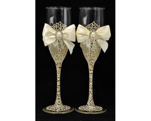 Свадебные бокалы (2 шт) В 68