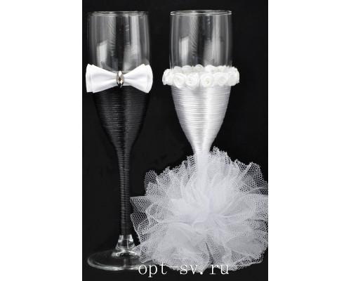 Свадебные бокалы (2 шт) В 13
