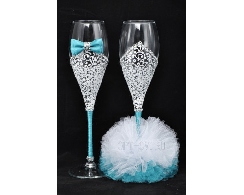 Свадебные бокалы (2 шт) В 1
