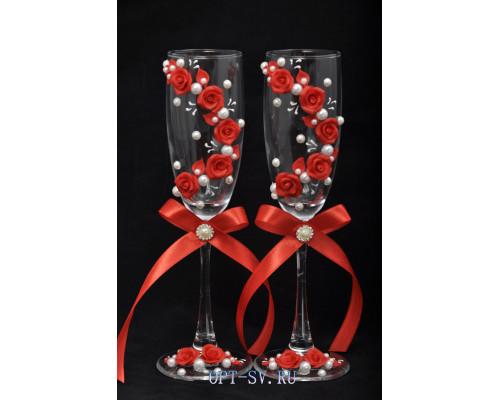 Свадебные бокалы (2 шт)  В 29