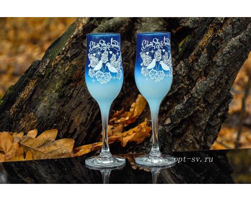 Свадебные бокалы (2 шт) В 132