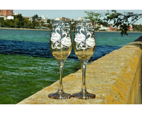Свадебные бокалы (2 шт) В 141
