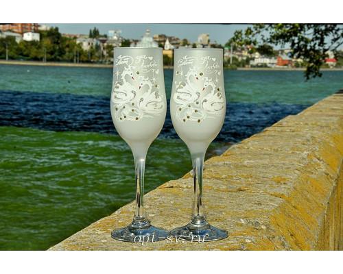 Свадебные бокалы (2 шт) В 144