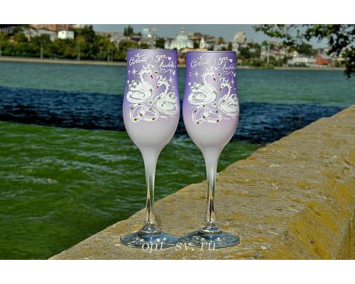 Свадебные бокалы (2 шт) В 145