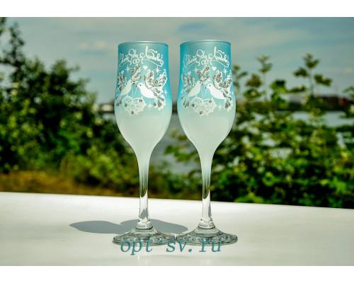 Свадебные бокалы (2 шт) В 139