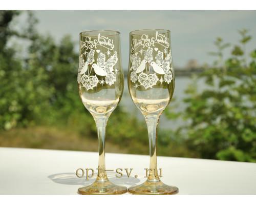 Свадебные бокалы (2 шт) В 137