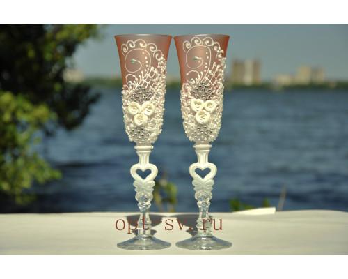 Свадебные бокалы (2 шт) В 100