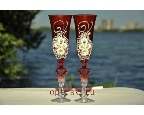 Свадебные бокалы (2 шт) В 103