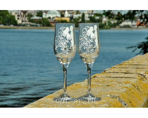 Свадебные бокалы (2 шт) В 98