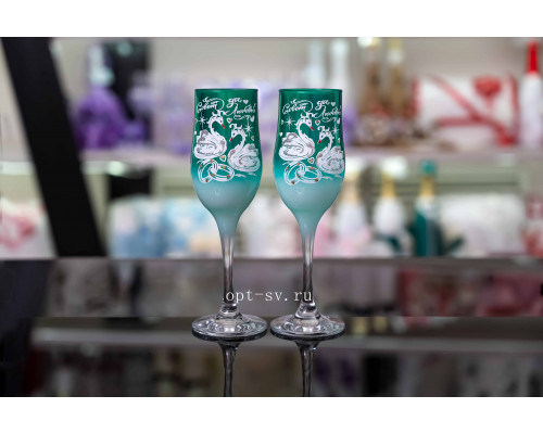Свадебные бокалы (2 шт) В 143