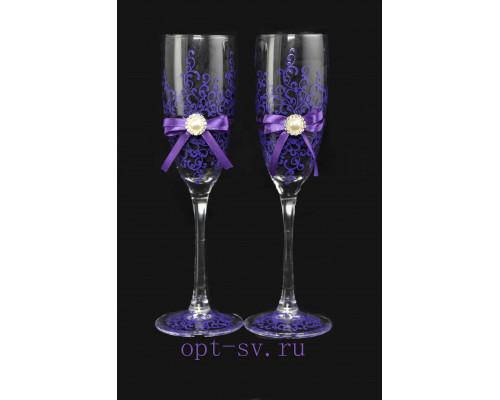Свадебные бокалы (2 шт) В 11