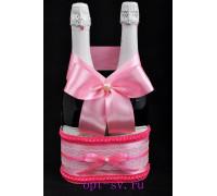 Корзинка для свадебного шампанского К 19