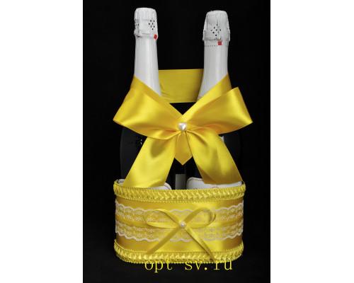 Корзинка для свадебного шампанского К 20