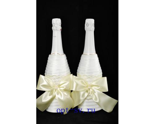 Украшение на свадебное шампанское К 56