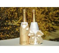 Украшение на свадебное шампанское К 29