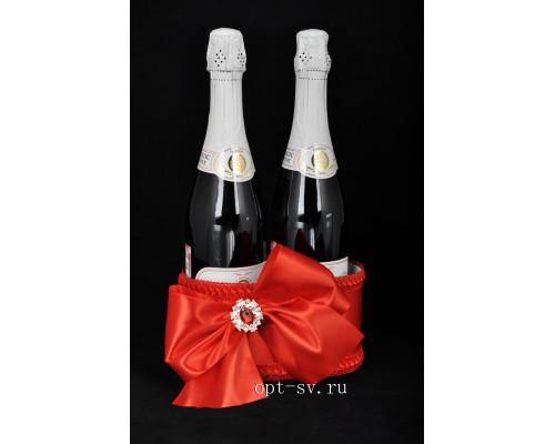 Украшение для свадебного шампанского К 34