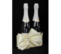 Корзинка для свадебного шампанского К 40