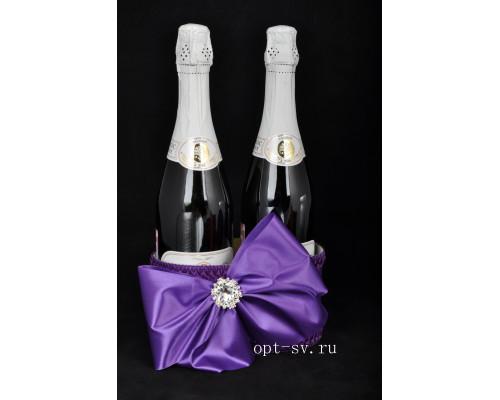 Корзинка для свадебного шампанского К 37