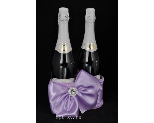 Корзинка для свадебного шампанского К 39