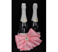 Корзинка для свадебного шампанского К 38