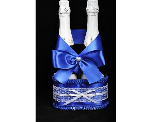 Корзинка для свадебного шампанского К 14