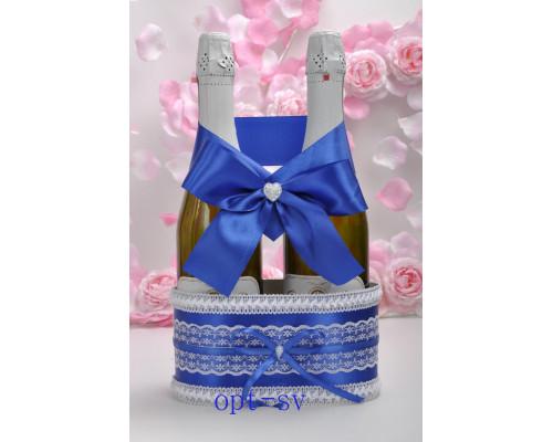 Корзинка для свадебного шампанского К 8