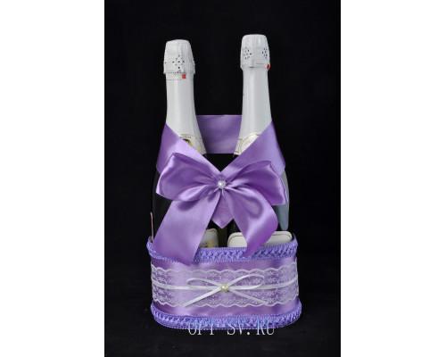 Корзинка для свадебного шампанского К 12