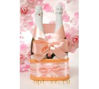 Корзинка для свадебного шампанского К 3