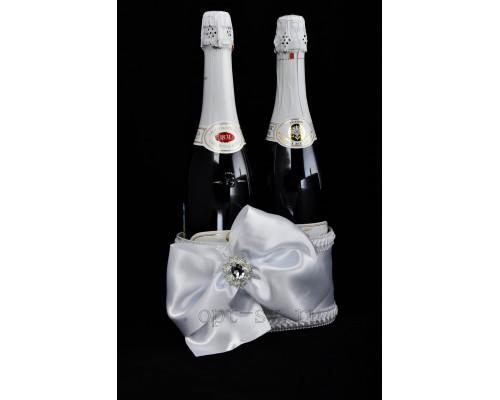 Корзинка для свадебного шампанского К 35