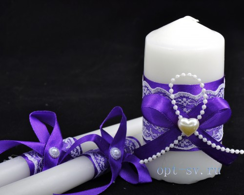 Свадебные свечи С 1